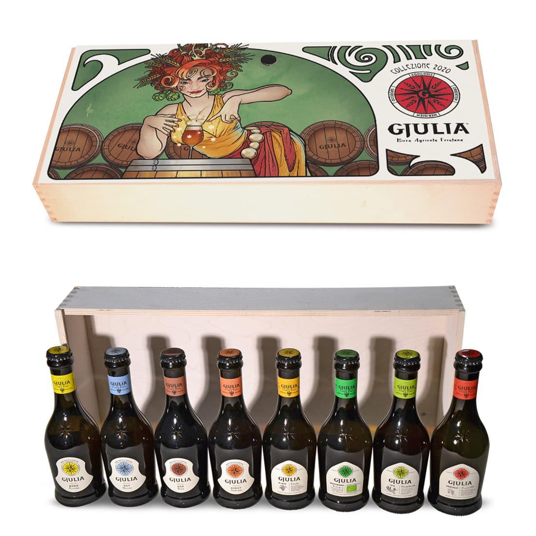 Cassetta regalo 2020 Fata Gjulia 8 bottiglie